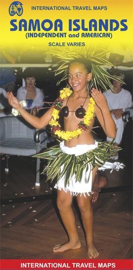 Samoa   landkaart, autokaart 9781553413875  ITM   Landkaarten en wegenkaarten Pacifische Oceaan (Pacific)