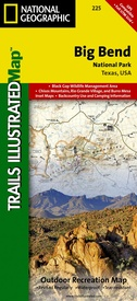 Big Bend 1:24.000 9781566952897  National Geographic / Trails Illustrated Nat.Park/Recr.Series  Wandelkaarten Centrale VS – Zuid (Texas)