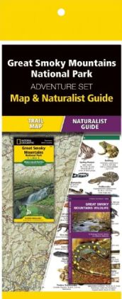 Great Smoky Mountains National Park Adventure Set 9781583559123  Waterford Press Map & Naturalist Guide  Natuurgidsen, Wandelkaarten VS Zuid-Oost, van Virginia t/m Mississippi