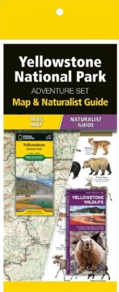 Yellowstone National Park Adventure Set 9781583559185  Waterford Press Map & Naturalist Guide  Natuurgidsen, Wandelkaarten Washington, Oregon, Idaho, Wyoming, Montana