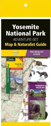 Yosemite National Park Adventure Set 9781583559192  Waterford Press Map & Naturalist Guide  Natuurgidsen, Wandelkaarten California, Nevada