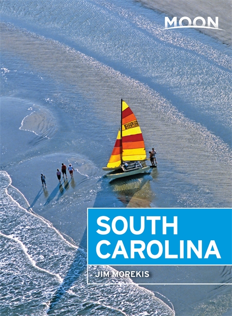 Moon Handbook South Carolina | reisgids 9781640492462  Moon   Reisgidsen VS Zuid-Oost, van Virginia t/m Mississippi