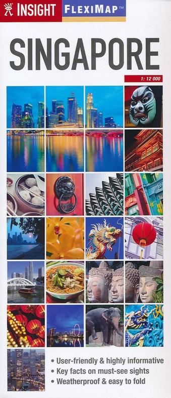 Singapore 9781780053912  APA Insight Flexi Maps  Stadsplattegronden Singapore