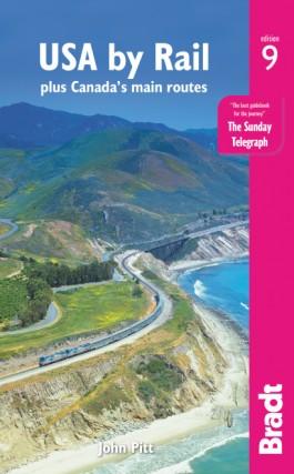 The Bradt Guide to USA by Rail 9781784776251  Bradt   Reisgidsen Verenigde Staten
