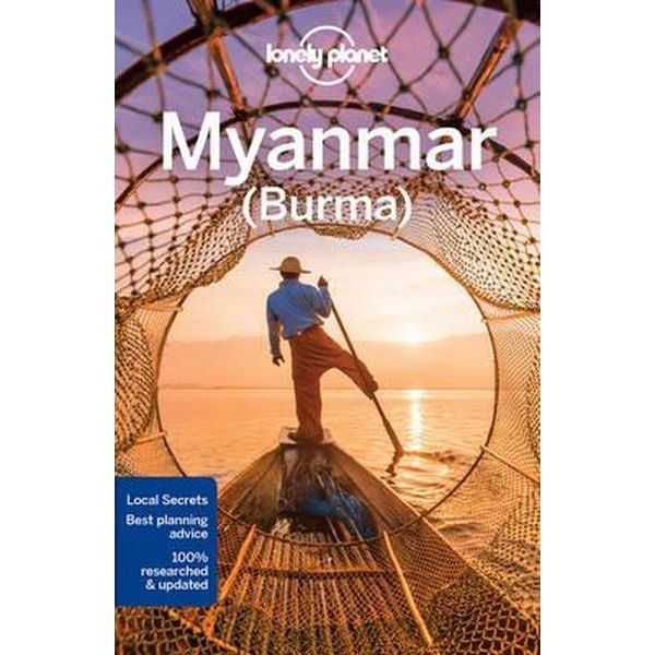 Lonely Planet Burma (Myanmar) 9781786575463  Lonely Planet Travel Guides  Reisgidsen Birma (Myanmar)