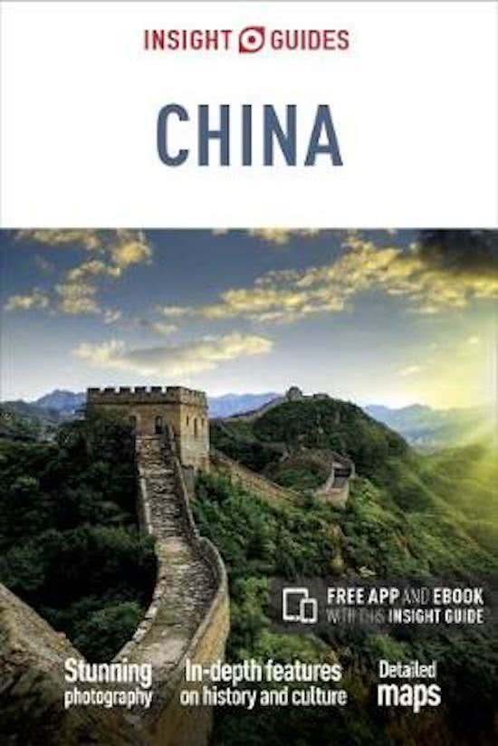 Insight Guide China 9781786716361  APA Insight Guides/ Engels  Reisgidsen China (Tibet: zie Himalaya)