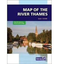 River Thames Map 9781846232374  Imray   Watersportboeken Midlands, Cotswolds, Oxford