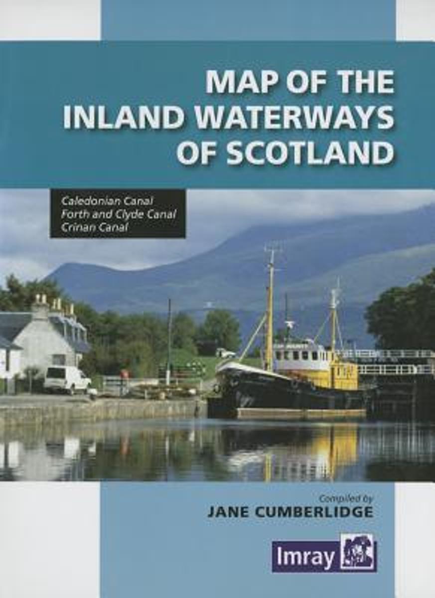 Map Inland Waterways of Scotland 9781846235221  Imray   Watersportboeken Schotland