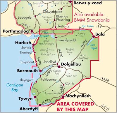 Snowdonia South | wandelkaart 1:40.000 9781851374694  Harvey Maps   Wandelkaarten Noord-Wales, Anglesey, Snowdonia