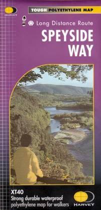 Speyside Way (Whisky Trail) | wandelkaart 1:40.000 9781851374878  Harvey Maps   Meerdaagse wandelroutes, Wandelkaarten de Schotse Hooglanden (ten noorden van Glasgow / Edinburgh)
