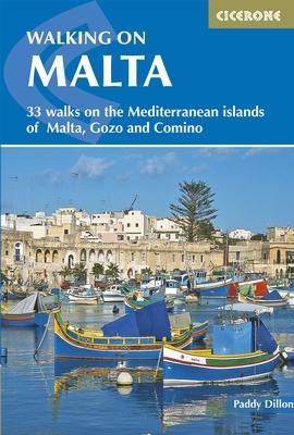 Walking in Malta 9781852848224 Dillon Cicerone Press   Wandelgidsen Malta