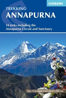 Annapurna a trekker´s guide | wandelgids 9781852848262  Cicerone Press   Meerdaagse wandelroutes, Wandelgidsen Nepal