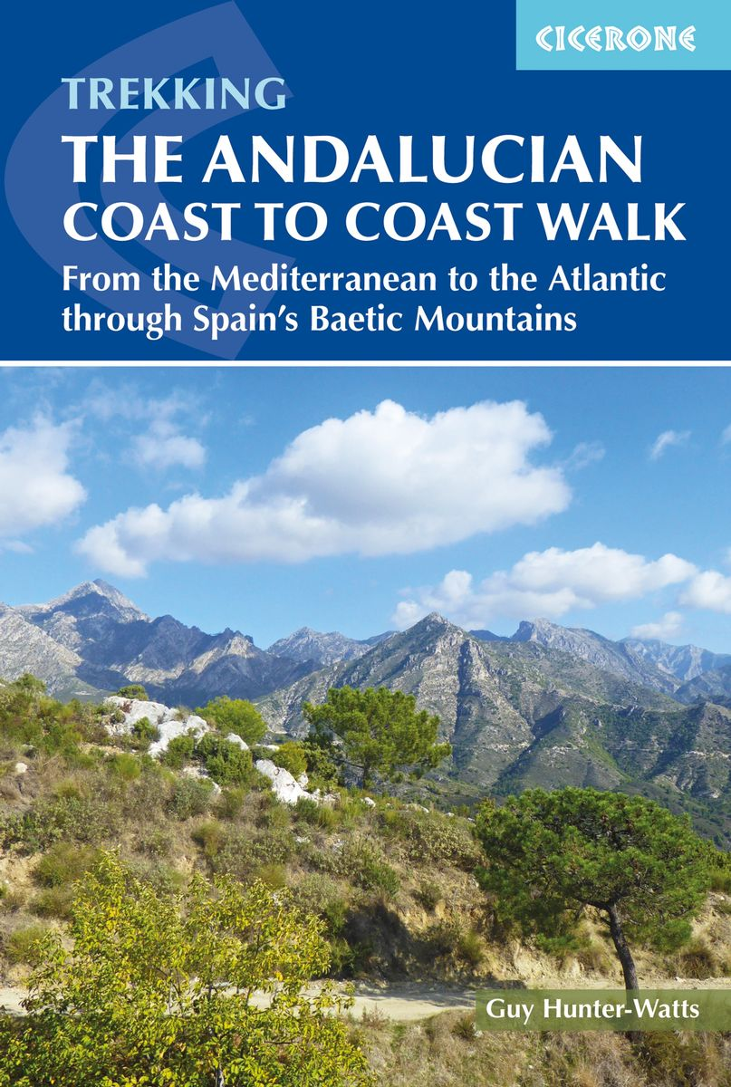 The Andalucian Coast to Coast Walk | wandelgids 9781852849702 Guy Hunter-Watts Cicerone Press   Meerdaagse wandelroutes, Wandelgidsen Andalusië