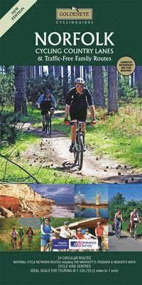 Norfolk Cycling Map 1:126.000 9781859652329  Goldeneye CyclistsMap 1:126000  Fietskaarten Oost-Engeland, Lincolnshire, Norfolk, Suffolk, Cambridge
