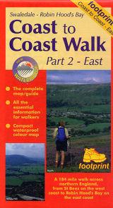 Coast to Coast Part 2 East 9781871149647  Footprint   Wandelkaarten Northumberland, Yorkshire Dales & Moors, Peak District, Isle of Man