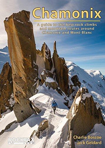 Chamonix Rockfax 9781873341575  Rockfax   Klimmen-bergsport Haute Savoie, Mont Blanc
