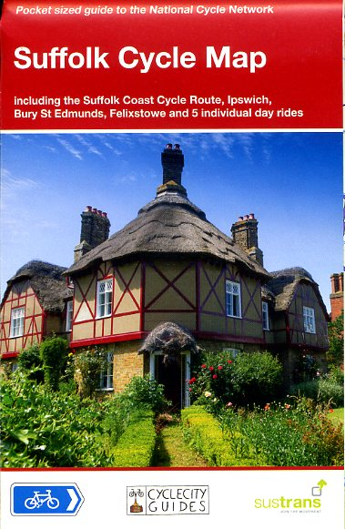 CCG18 Suffolk Cycle Map 1:110.000 9781900623315  Cycle City Guides / Sustrans   Fietskaarten Oost-Engeland, Lincolnshire, Norfolk, Suffolk, Cambridge