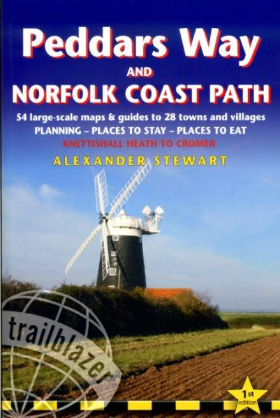 Peddars Way and Norfolk Coast Path 9781905864287  Trailblazer Walking Guides  Meerdaagse wandelroutes, Wandelgidsen Oost-Engeland, Lincolnshire, Norfolk, Suffolk, Cambridge