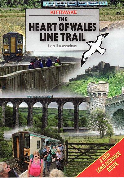 Heart of Wales Line Trail Guide 9781908748577 Les Lumsdon Kittiwake   Meerdaagse wandelroutes, Wandelgidsen Wales