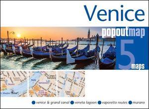 Venetië pop out map   stadsplattegrondje in zakformaat 9781910218228  Grantham Book Services PopOut Maps  Stadsplattegronden Zuidtirol, Dolomieten, Friuli, Venetië, Emilia-Romagna