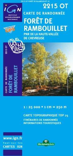 2215OT  Parc Haute Vallée Chevreuse | wandelkaart 1:25.000 9782758518228  IGN TOP 25  Wandelkaarten Parijs, Île-de-France