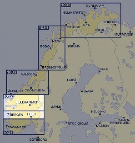Landkaart Noorwegen Reisboekhandel De Noorderzon