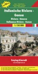 Italienische Riviera, Genua | autokaart, wegenkaart 1:150.000 9783707901764  Freytag & Berndt Italië Wegenkaarten  Landkaarten en wegenkaarten Ligurië, Piemonte, Lombardije