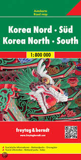Korea (North + South)   autokaart, wegenkaart 1:900.000 9783707914184  Freytag & Berndt   Landkaarten en wegenkaarten Noord-Korea, Zuid-Korea