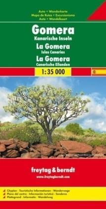 La Gomera 1:35.000 9783707916478  Freytag & Berndt   Landkaarten en wegenkaarten, Wandelkaarten La Gomera