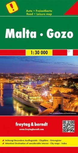 Malta 1:30.000 9783707916744  Freytag & Berndt   Wandelkaarten Malta