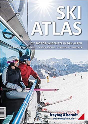 Ski Atlas 9783707917710  Freytag & Berndt   Wintersport Zwitserland en Oostenrijk (en Alpen als geheel)