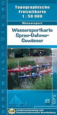Wassersportkarte Spree-Dahme-Gewässer (SK nr.8) 9783749040490  LVA Brandenburg   Watersportboeken Brandenburg