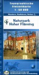 Hoher Fläming 1:50.000 9783749040735  LVA Brandenburg   Wandelkaarten Brandenburg