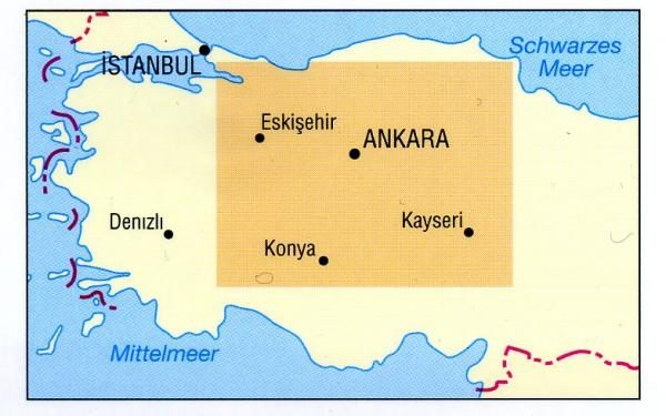 Zentralanatolien 9783770166169  Dumont Kunstreiseführer  Reisgidsen Turkse Riviera, overig Turkije