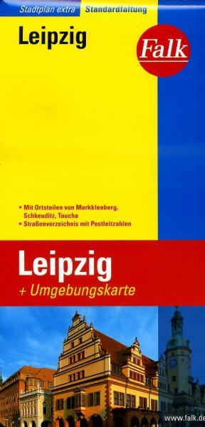 Leipzig 9783827924315  Falk Stadsplattegronden  Stadsplattegronden Leipzig