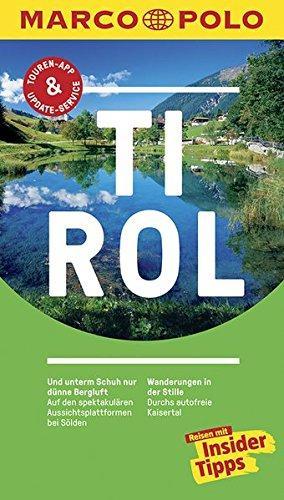 Marco Polo Tirol (Duitstalig) 9783829729147  Marco Polo (D) MP reisgidsjes  Reisgidsen Tirol & Vorarlberg