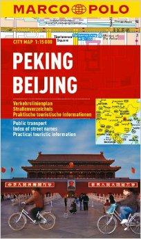 Peking / Beijing stadsplattegrond 1:15.000 9783829730723  Marco Polo (D) MP stadsplattegronden  Stadsplattegronden China (Tibet: zie Himalaya)