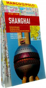 Shanghai stadsplattegrond 1:15.000 9783829730808  Marco Polo (D) MP stadsplattegronden  Stadsplattegronden China (Tibet: zie Himalaya)