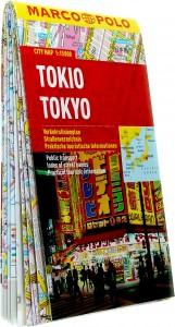Tokyo stadsplattegrond 1:15.000 9783829730853  Marco Polo (D) MP stadsplattegronden  Stadsplattegronden Japan