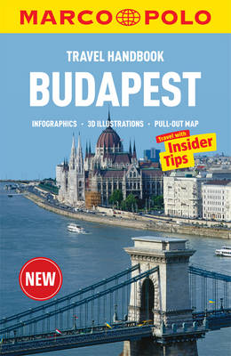 MP Travel Handbook Budapest 9783829768313  Marco Polo   Reisgidsen Hongarije