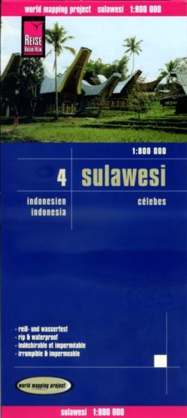 landkaart, wegenkaart Sulawesi 1:800.000 9783831772292  Reise Know-How WMP Polyart  Landkaarten en wegenkaarten Indonesië