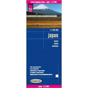 landkaart, wegenkaart Japan 1:1.100.000 9783831772919  Reise Know-How WMP Polyart  Landkaarten en wegenkaarten Japan