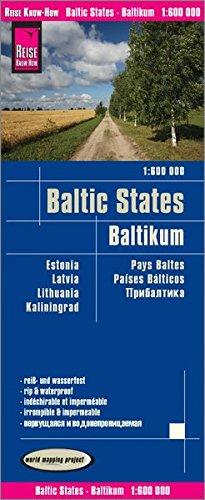 landkaart, wegenkaart Baltische Staten 1:600.000 9783831773718  Reise Know-How WMP Polyart  Landkaarten en wegenkaarten Baltische Staten en Kaliningrad