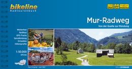 Bikeline Mur-Radweg   fietsgids 9783850000376  Esterbauer Bikeline  Fietsgidsen, Meerdaagse fietsvakanties Salzburg, Karinthië, Tauern, Stiermarken