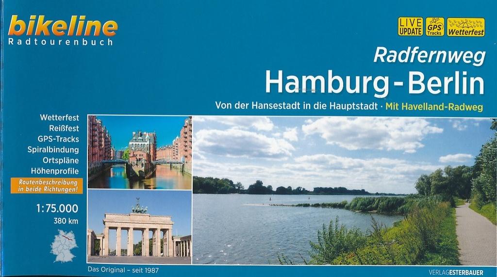 Bikeline Radfernweg Hamburg - Berlin | fietsgids 9783850002042  Esterbauer Bikeline  Fietsgidsen, Meerdaagse fietsvakanties Duitsland