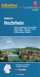 RK-BW13  Hochrhein 1:75.000 9783850003483  Esterbauer Bikeline Radkarten  Fietskaarten Zwarte Woud