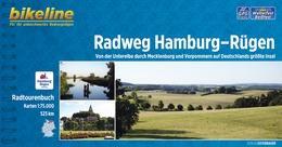 Bikeline Radfernweg Hamburg-Rügen | fietsgids 9783850003773  Esterbauer Bikeline  Fietsgidsen, Meerdaagse fietsvakanties Duitsland