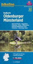 RK-NDS09  Oldenburger Münsterland 9783850003803  Esterbauer Bikeline Radkarten  Fietskaarten Bremen, Osnabrück, Emsland
