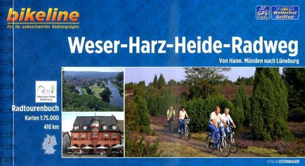 Bikeline Weser-Harz-Heide-Radweg   fietsgids 9783850004213  Esterbauer Bikeline  Fietsgidsen Hannover, Weserbergland, Lüneburger Heide, Elbufer