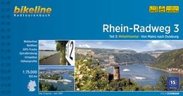 Bikeline Rhein-Radweg 3 | fietsgids 9783850006613  Esterbauer Bikeline  Fietsgidsen, Meerdaagse fietsvakanties Duitsland